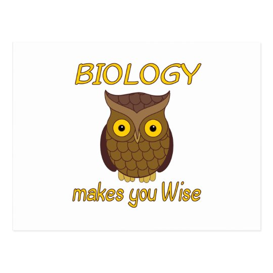 Biology Wise Postcard