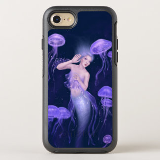 Bioluminescence Purple Jellyfish Mermaid OtterBox Symmetry iPhone 7 Case