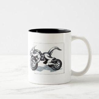 Biomechanical Draconic Trike Mug