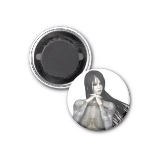 Biomechannequin Woman 3 - 3D Goth Mannequin Magnet