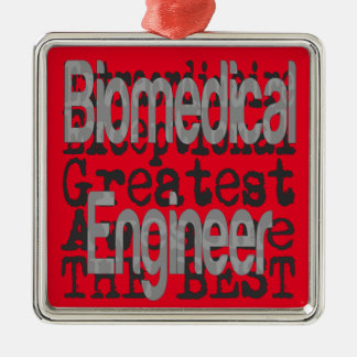 Biomedical Engineer Extraordinaire Silver-Colored Square Decoration