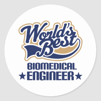 Biomedical Engineer Gift Round Stickers