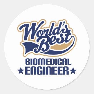 Biomedical Engineer Gift Round Stickers