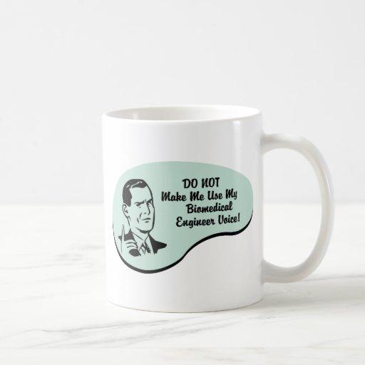 Biomedical Engineer Voice Coffee Mugs