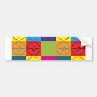 Biomedical Engineering Pop Art Bumper Sticker