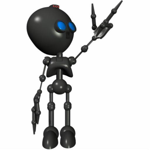 Bionic Boy 3D Robot - Finger Guns 2 - Original Cut Outs