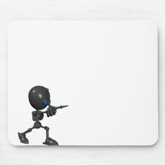 Bionic Boy 3D Robot - Finger Guns - Original Mouse Pad