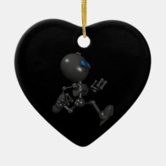 Bionic Boy 3D Robot - Running - Original Ceramic Heart Decoration