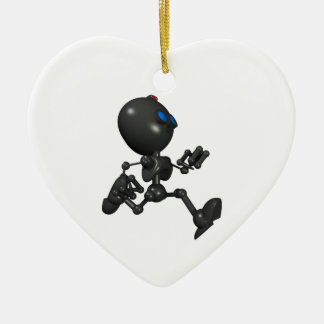 Bionic Boy 3D Robot - Running - Original Christmas Ornament