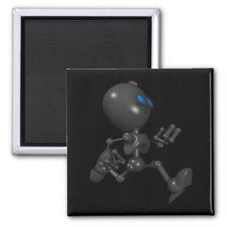 Bionic Boy 3D Robot - Running - Original Square Magnet