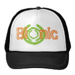Bionic Edgy Logo Tees and Gifts Mesh Hats