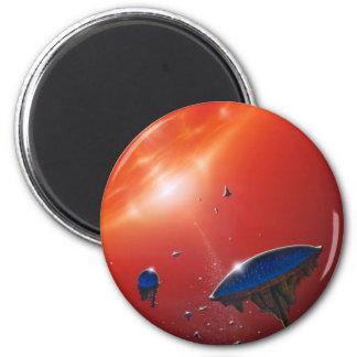 Biosphere 6 Cm Round Magnet