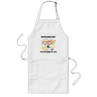 Biotechnology The Splicing Of Life (Mature RNA) Long Apron