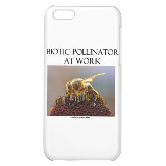Biotic Pollinator At Work (Bee On A Flower) iPhone 5C Case