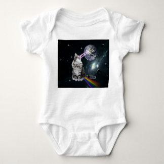 Bioworld Laser Eyes Space Cat Baby Bodysuit