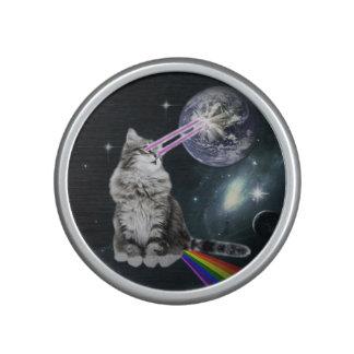 Bioworld Laser Eyes Space Cat Speaker