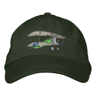 Biplane #2 embroidered hat