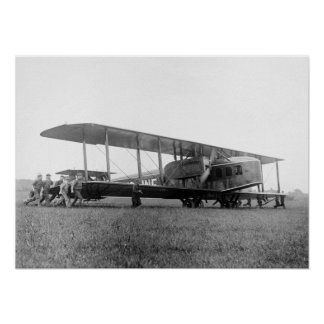 Biplane Airliner 1919 Posters