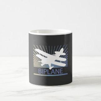 Biplane Airplane Coffee Mugs