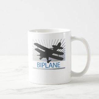 Biplane Airplane Mugs