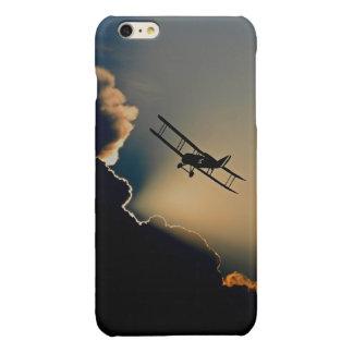 Biplane and sunset iPhone 6 plus case
