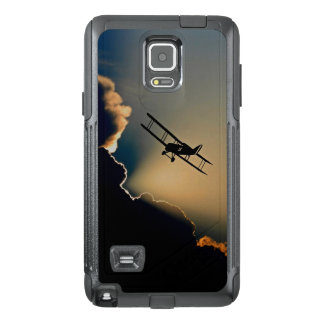 Biplane and sunset OtterBox samsung note 4 case