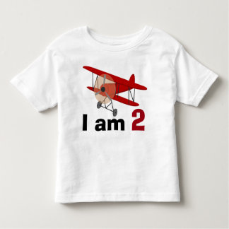 Biplane Birthday Toddler T-Shirt