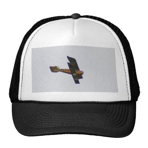Biplane In Werner Voss Livery Trucker Hats