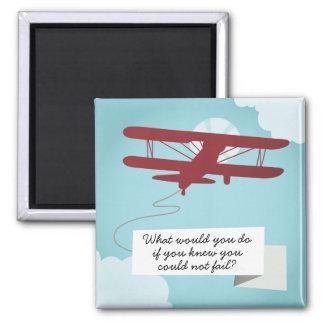 Biplane Magnet