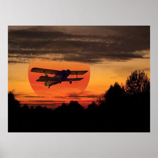 biplane poster