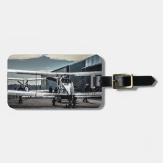 Biplanes Luggage Tag