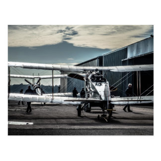 Biplanes Postcard