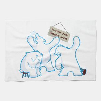 Bipolar Bear Towels
