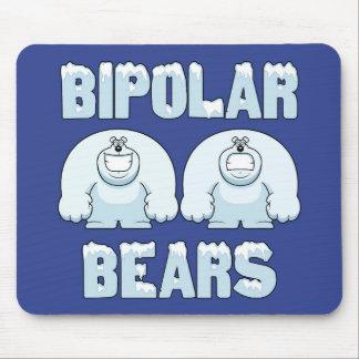 BIPOLAR BEARS MOUSE MAT