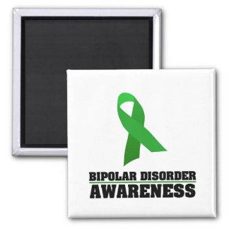 Bipolar Disorder Awareness Square Magnet