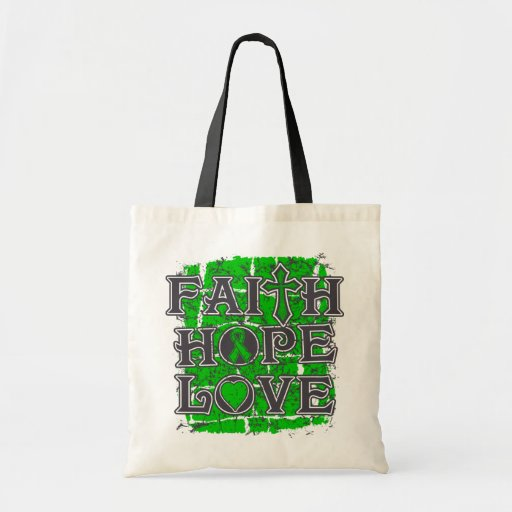 Bipolar Disorder Faith Hope Love Bag
