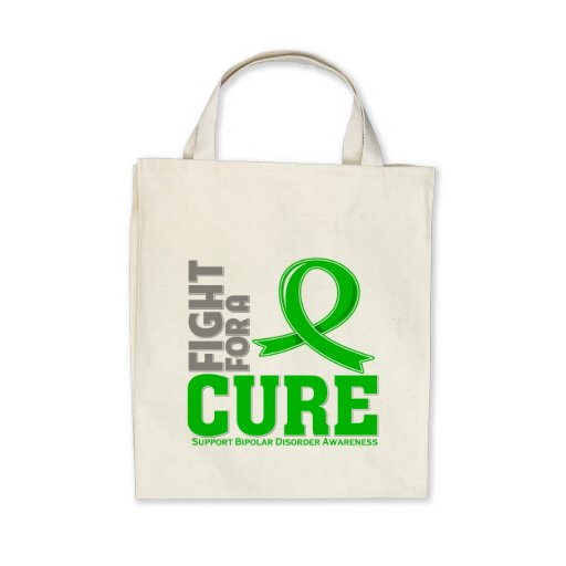 Bipolar Disorder Fight For A Cure Canvas Bag