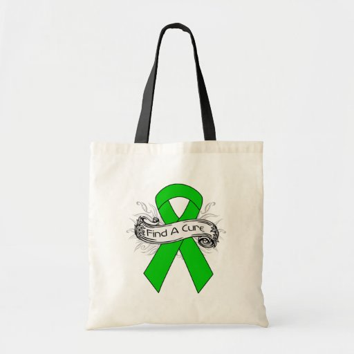Bipolar Disorder Find A Cure Ribbon Tote Bags