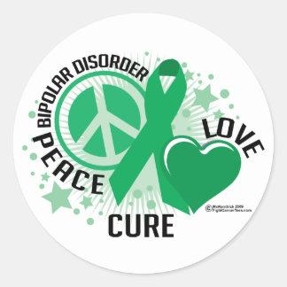 Bipolar Disorder PLC Classic Round Sticker