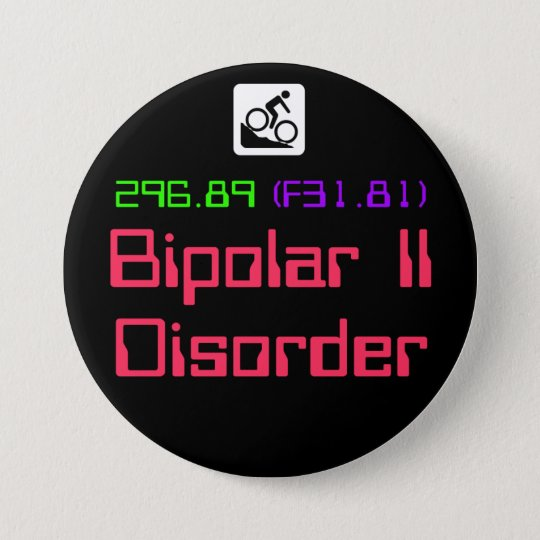 Bipolar II Disorder DSM-5 button