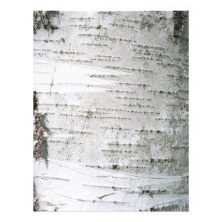 Birch bark 21.5 cm x 28 cm flyer