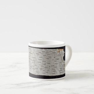 birch bark espresso mug