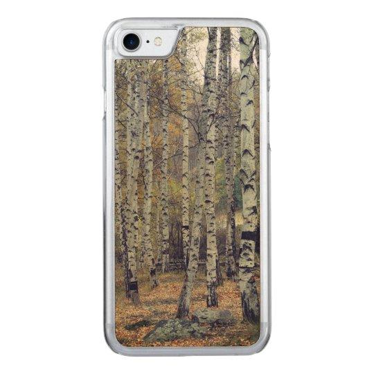 Birch forest Apple iPhone 8/7 Slim Maple Wood