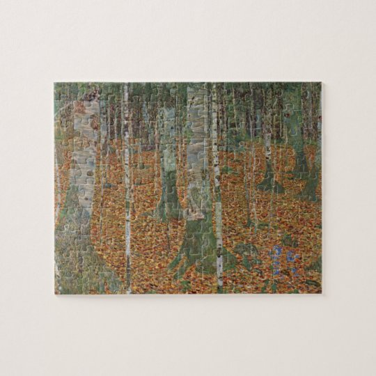 Birch Forest by Gustav Klimt, Vintage Art Nouveau