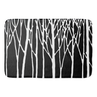 Birch Forest by Leslie Peppers Bath Mat