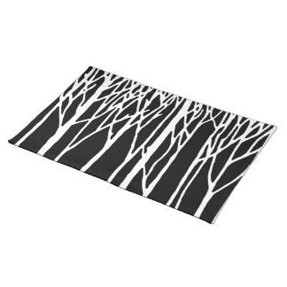 Birch Forest by Leslie Peppers Placemat
