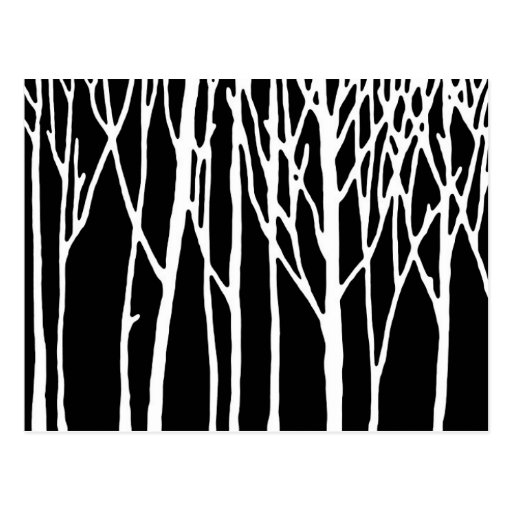 Birch Forest by Leslie Peppers Post Card