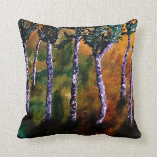 Birch Forest Pillow Cushions