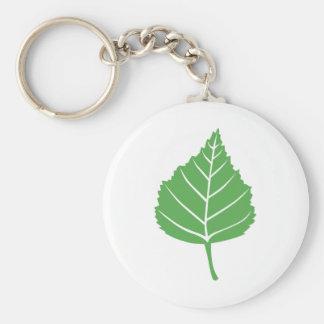 Birch Leaf Keychain 1