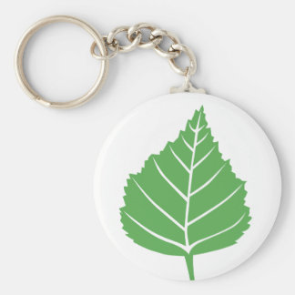 Birch Leaf Keychain 2